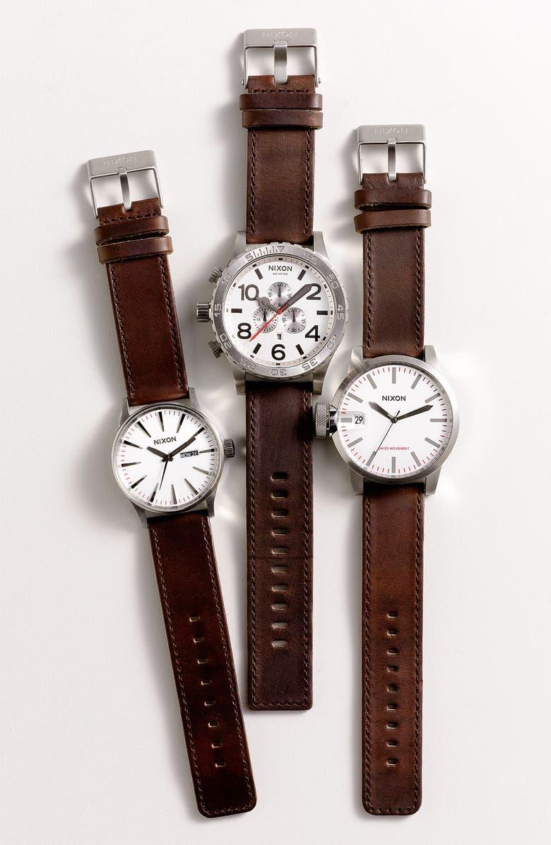 NIXON 'The 51-30 Chrono' Watch, 51mm, Main, color, 001