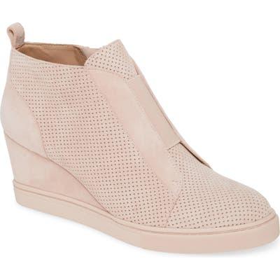 Linea Paolo Felicia Iii Wedge Sneaker- Pink