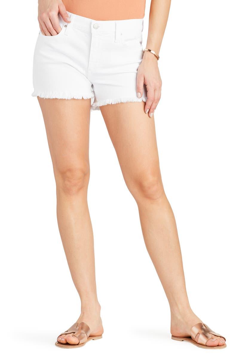 JOE'S Ozzie Cutoff Denim Shorts, Main, color, CAROL