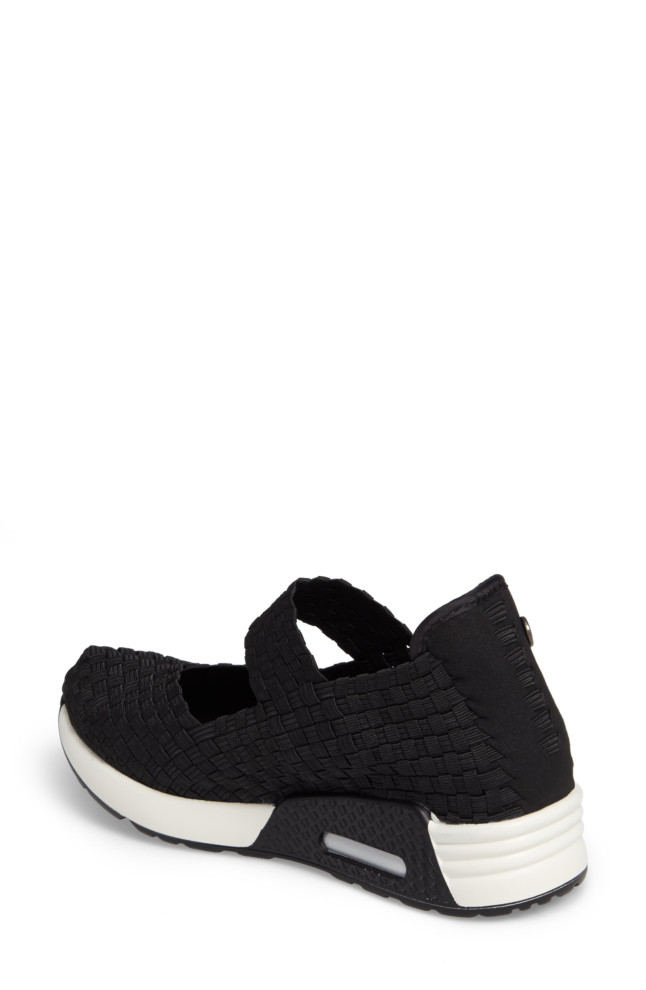 ,                             Best Charm Mary Jane Sneaker,                             Alternate thumbnail 2, color,                             BLACK FABRIC