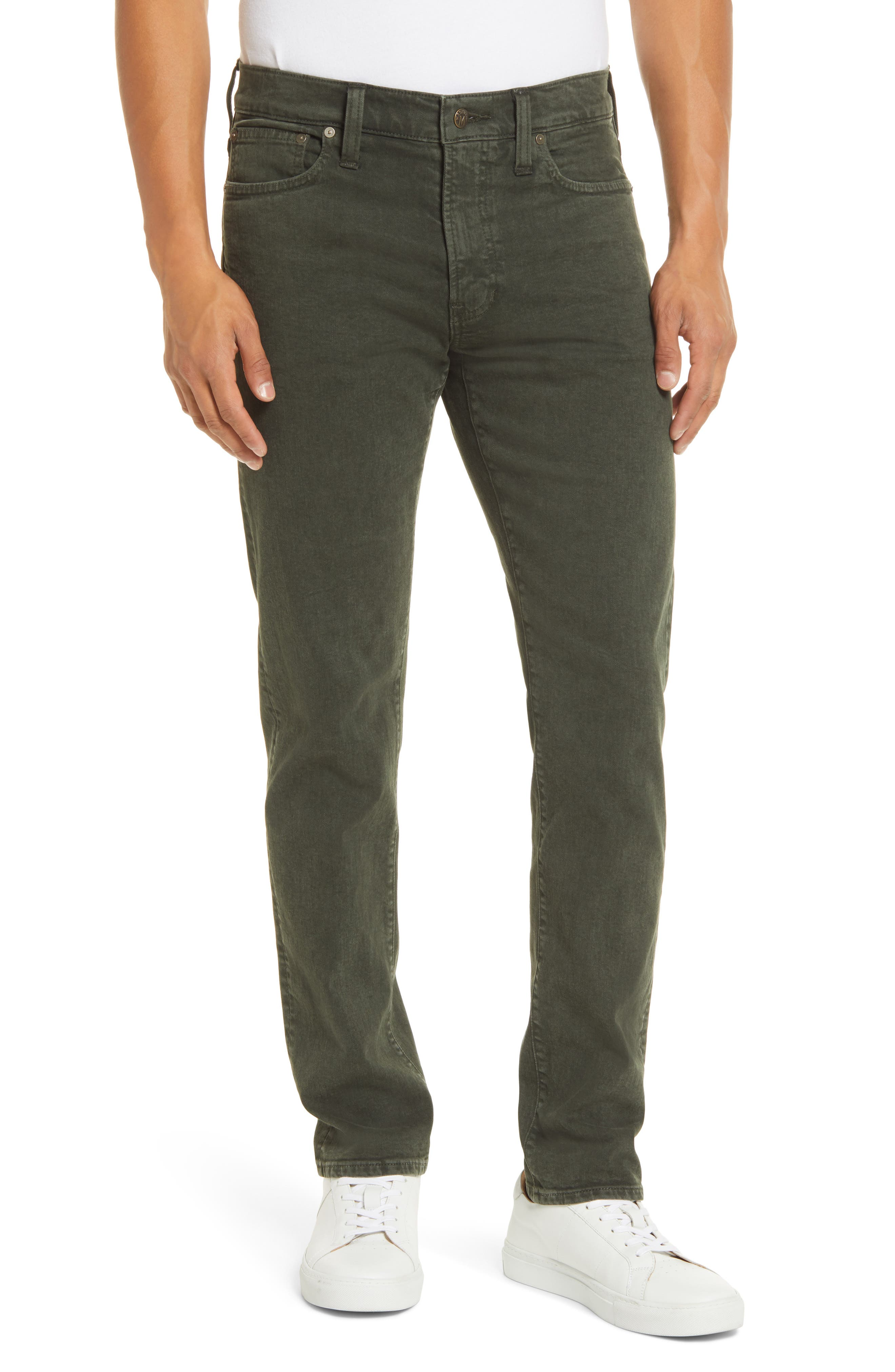 Image of Madewell Garment Dyed Slim Everyday Flex Jeans