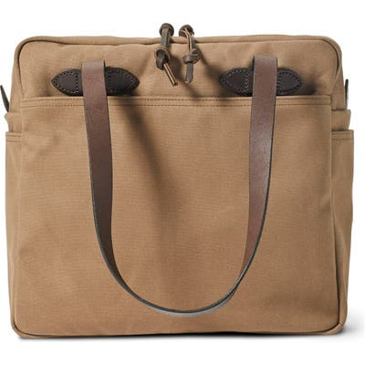 Filson Zip Tote Bag - Brown