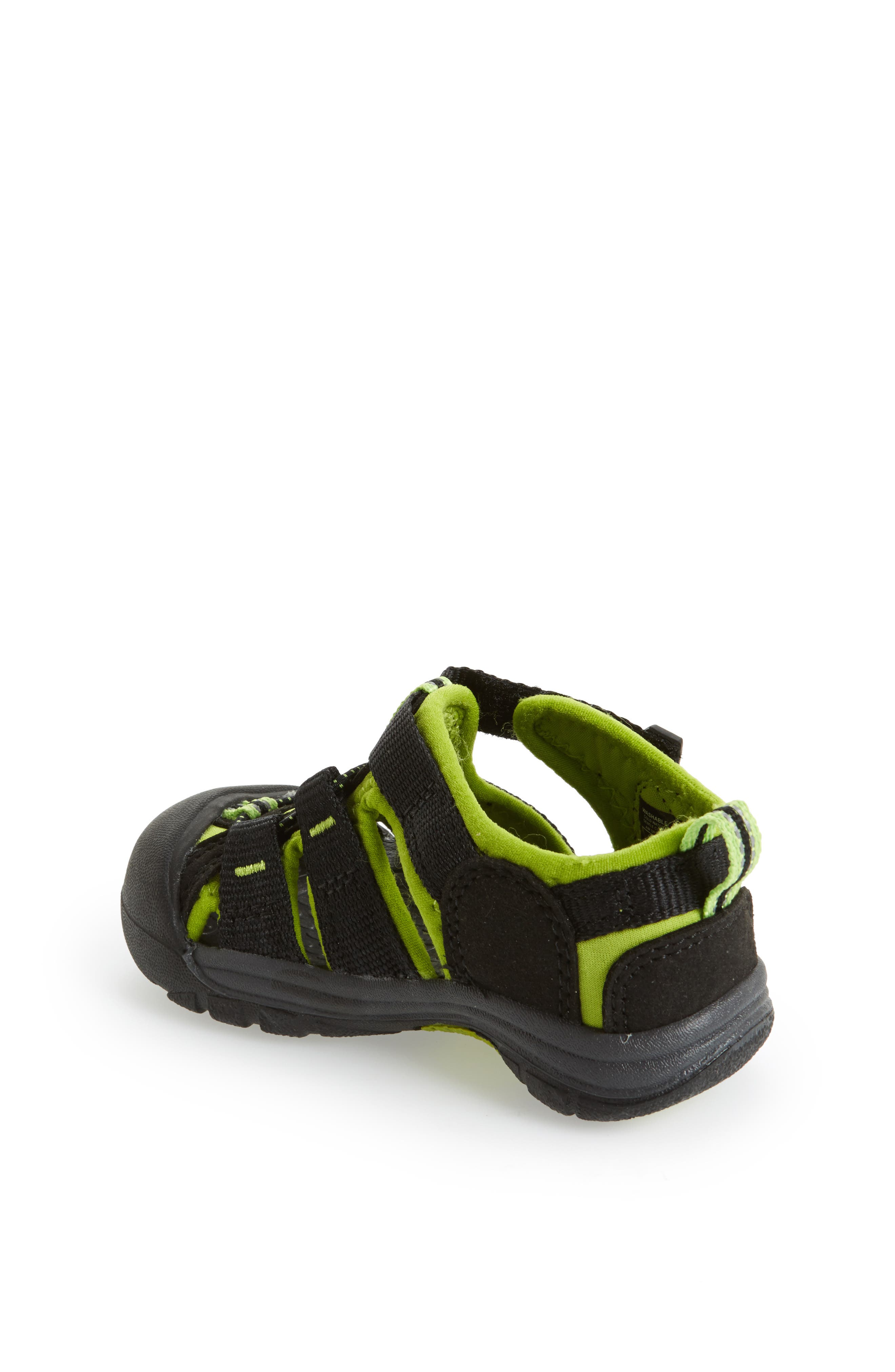 ,                             'Newport H2' Water Friendly Sandal,                             Alternate thumbnail 2, color,                             BLACK LIME