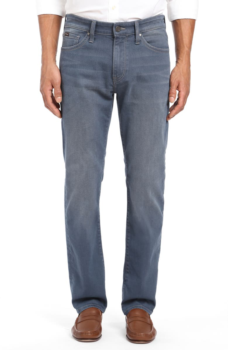 34 HERITAGE Courage Straight Leg Jeans, Main, color, PETROL NIGHT