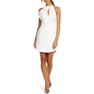 Adelyn Rae Melissa Sheath Dress, White