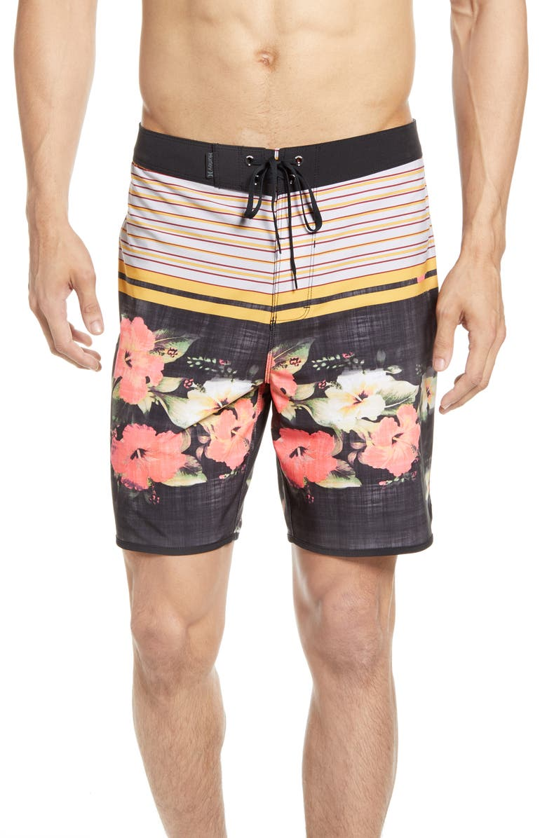 HURLEY Phantom Ramble Board Shorts, Main, color, BLACK
