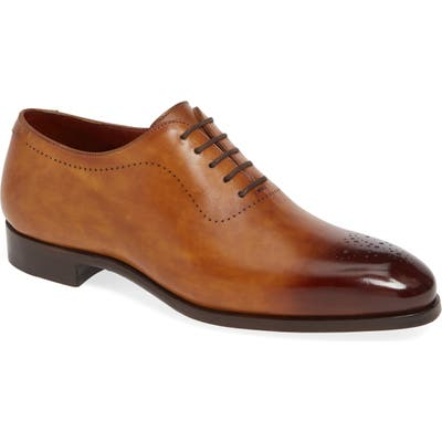 Magnanni Bryant Medallion Toe Oxford, Brown