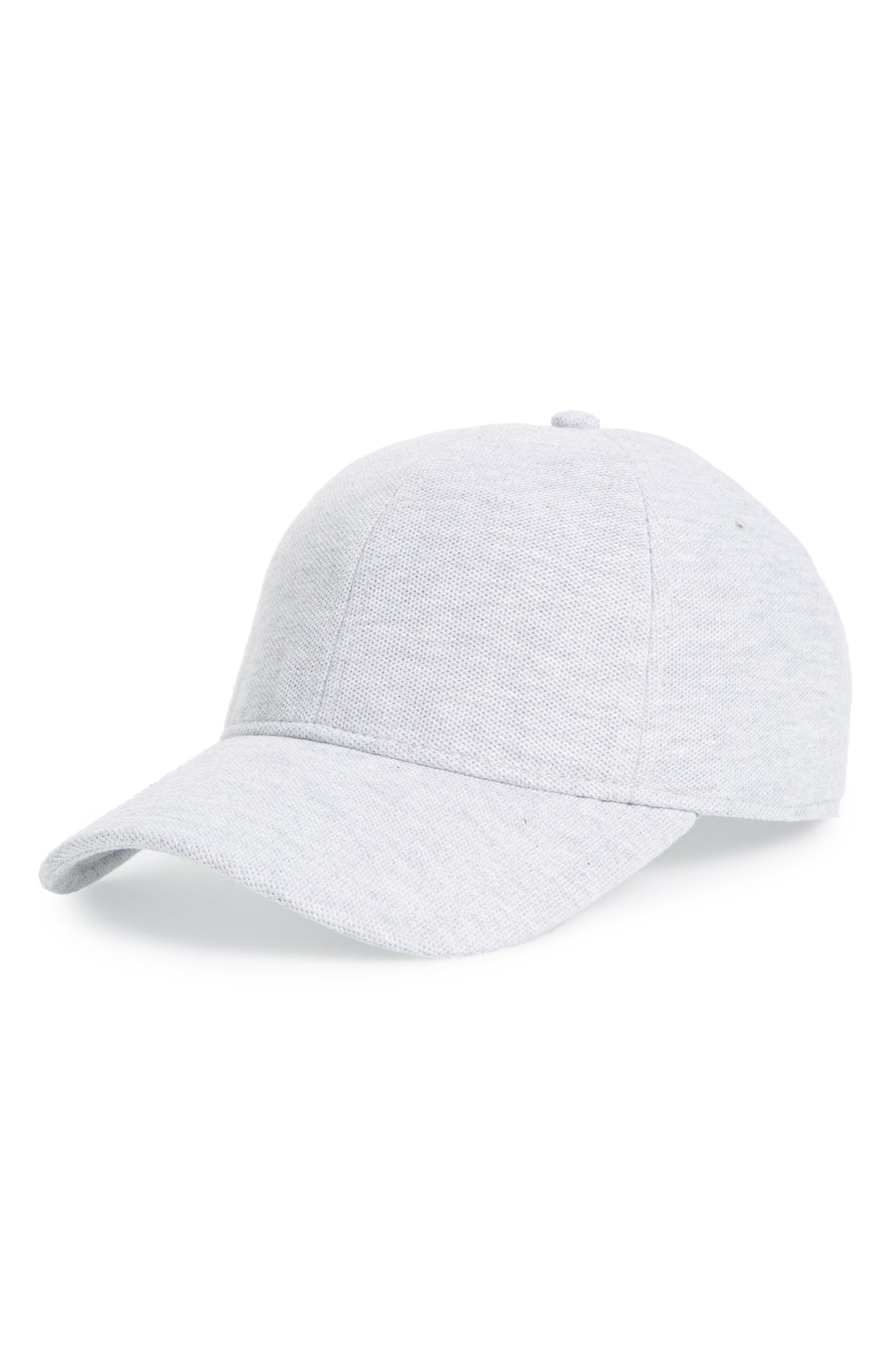 ,                             Croc Cotton Baseball Cap,                             Main thumbnail 4, color,                             024