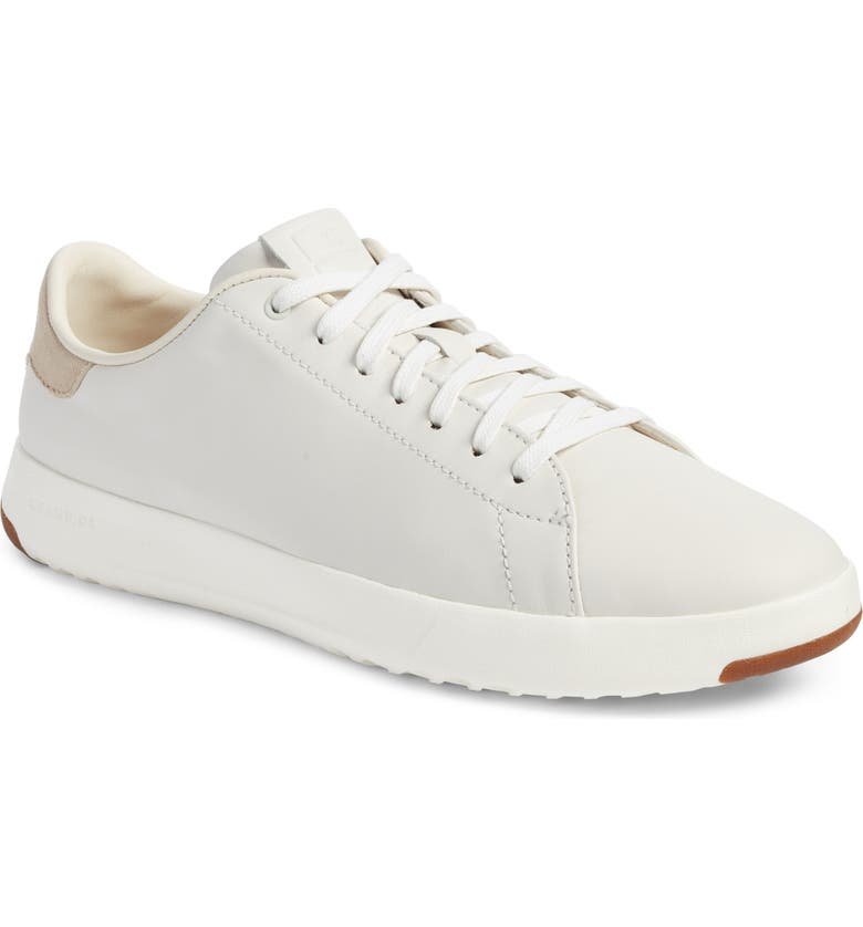 COLE HAAN GrandPro Tennis Sneaker, Main, color, WHITE