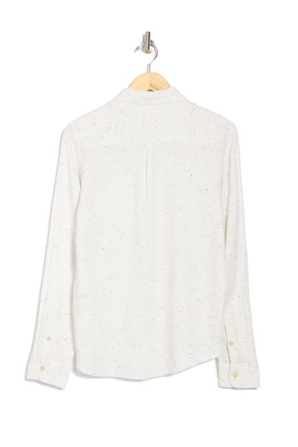 Image of Marine Layer Bagley Cotton Neps Button-Down Shirt