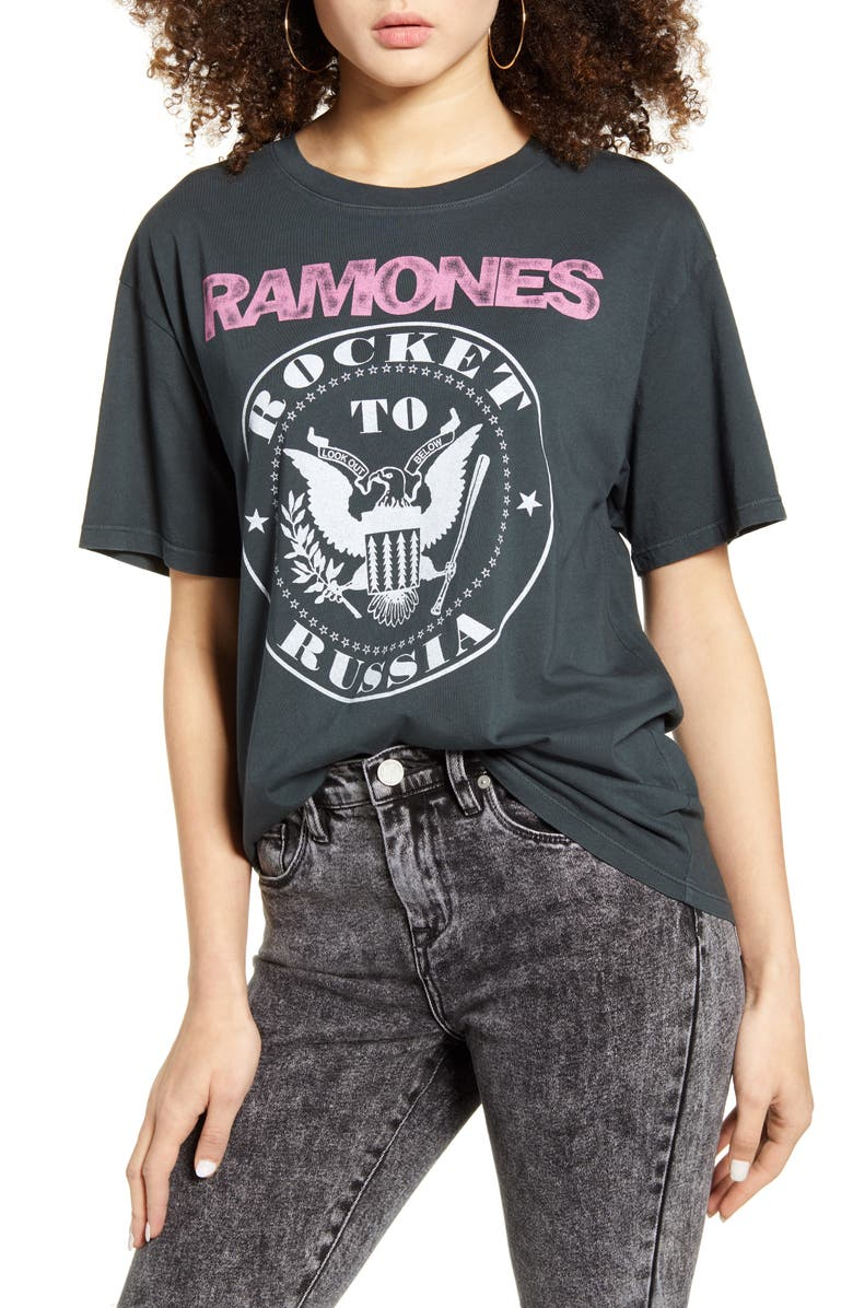 DAY Ramones Rocket to Russia Graphic Tee, Main, color, 002