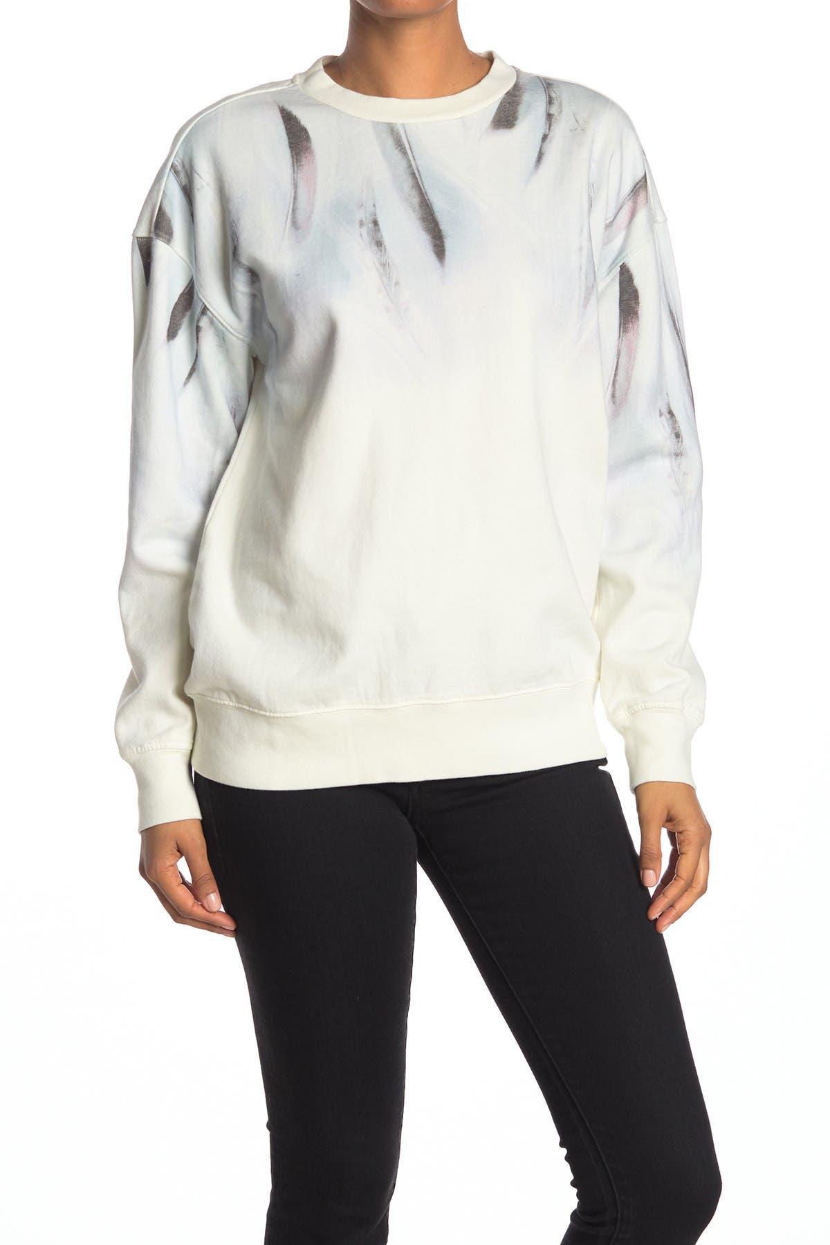 Image of ALLSAINTS Plume Joy Pullover Sweatshirt