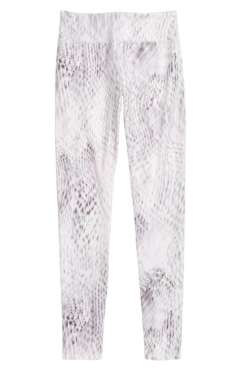 ZELLA GIRL Print Leggings, Main, color, GREY LILAC CHIMERA PRINT