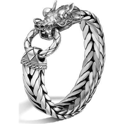 John Hardy Legends Naga Dragon Head Bracelet