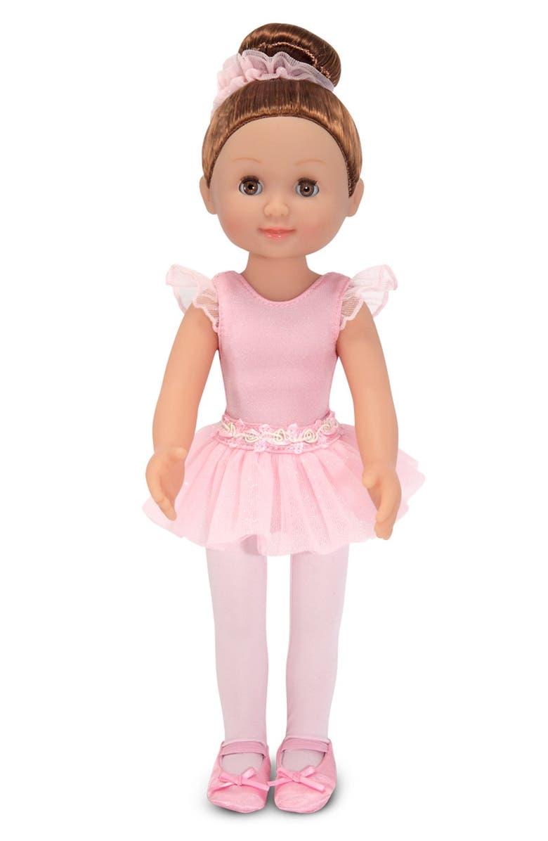 MELISSA & DOUG 'Mine to Love - Victoria' Ballerina Doll, Main, color, PINK