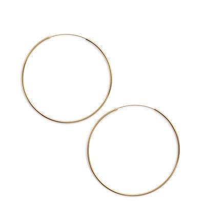 Argento Vivo Extra Large Endless Hoop Earrings