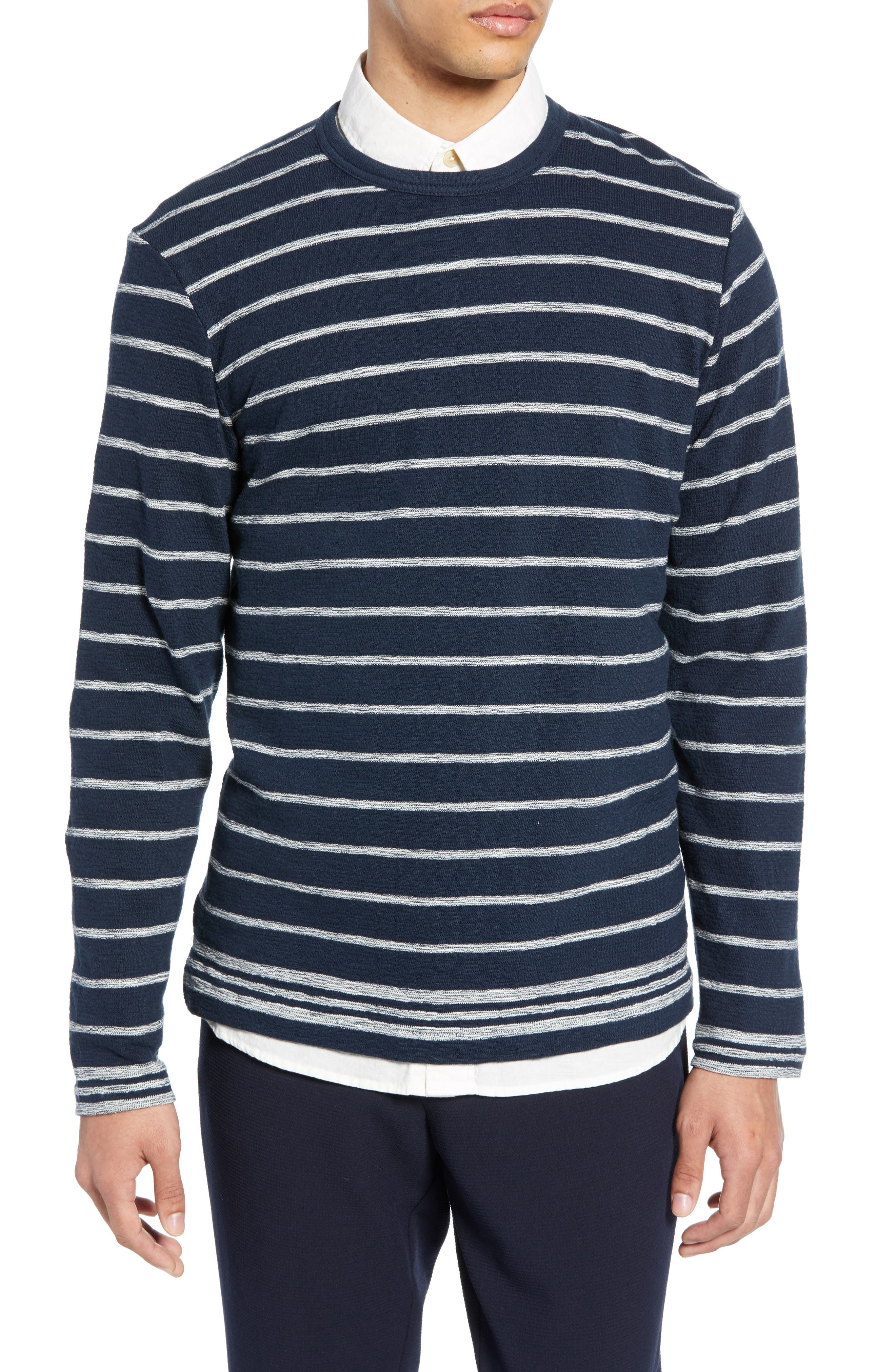 Selected Homme Jack Slim Fit Organic Cotton Sweater, Blue