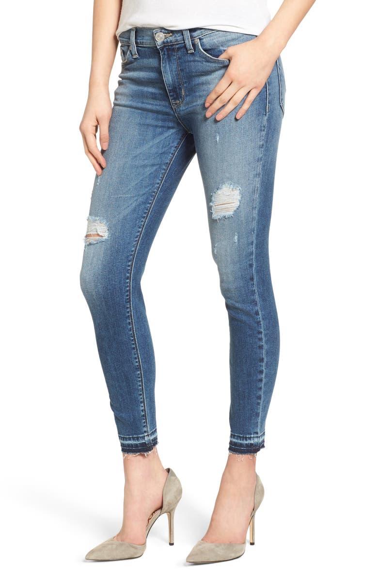 4d05f4ee871 Hudson Jeans Nico Released Hem Ankle Skinny Jeans (Decimate) | Nordstrom