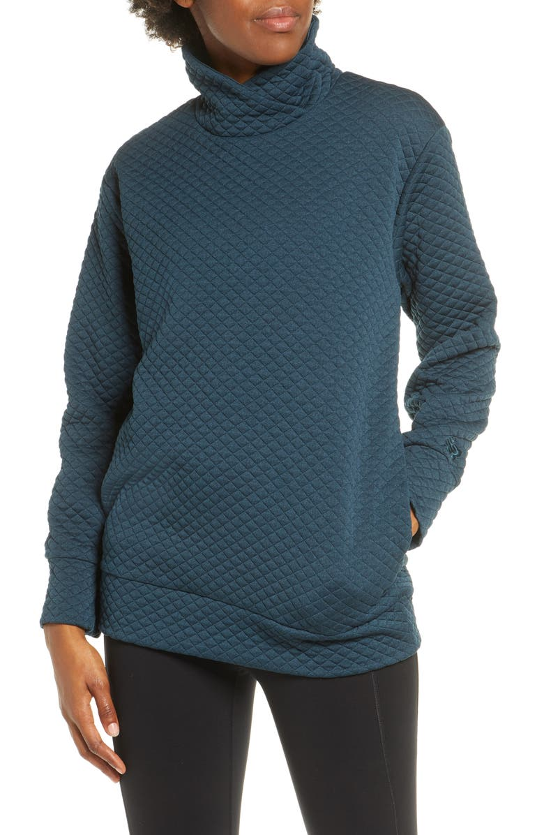 NEW BALANCE Heat Loft Pullover, Main, color, SUPERCELL