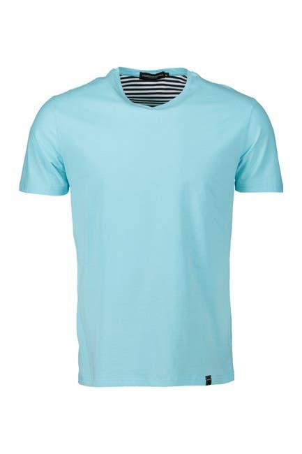 Image of TR Premium Solid V-Neck T-Shirt