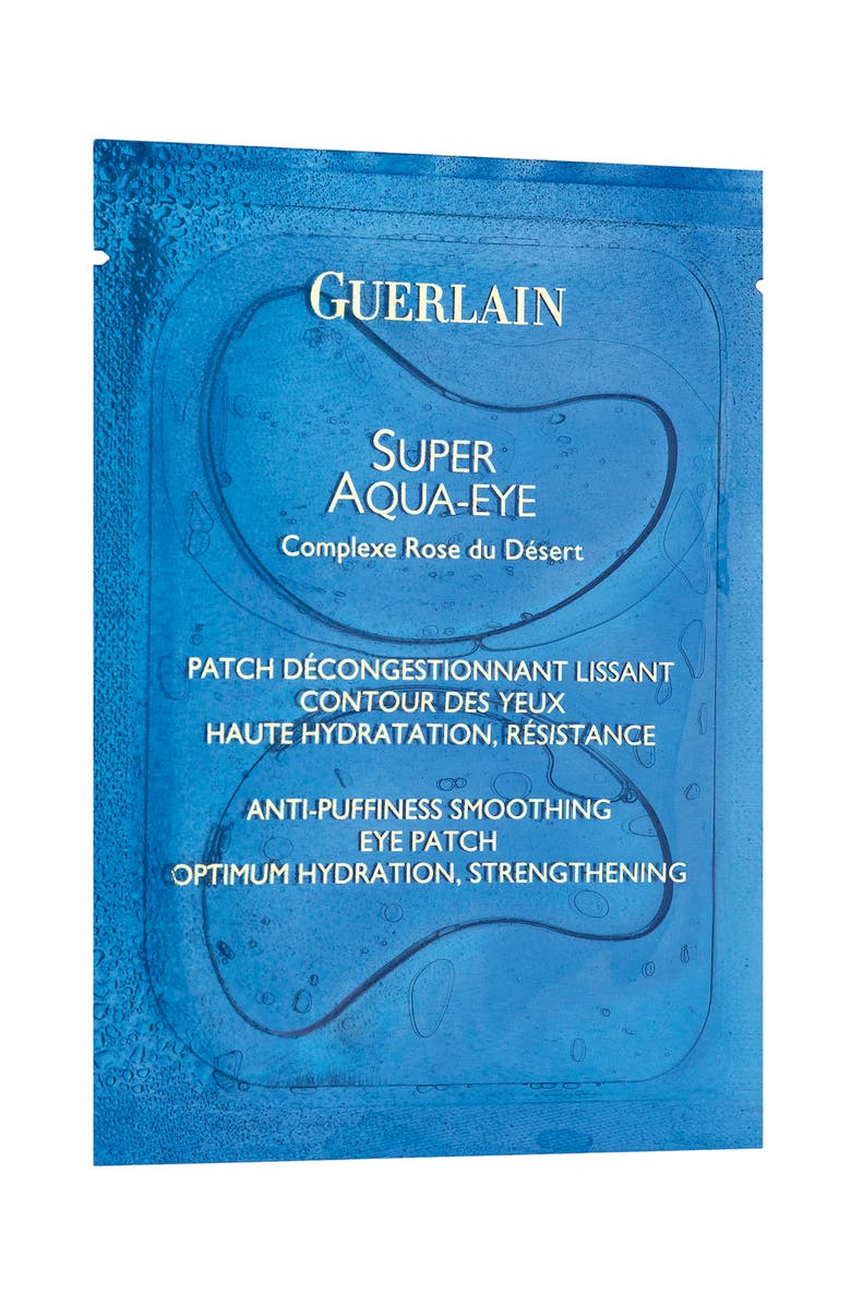 GUERLAIN Set of 6 Super Aqua Anti-Puffiness Eye Patch, Main, color, NO COLOR