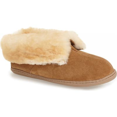 Minnetonka Sheepskin Slipper Bootie
