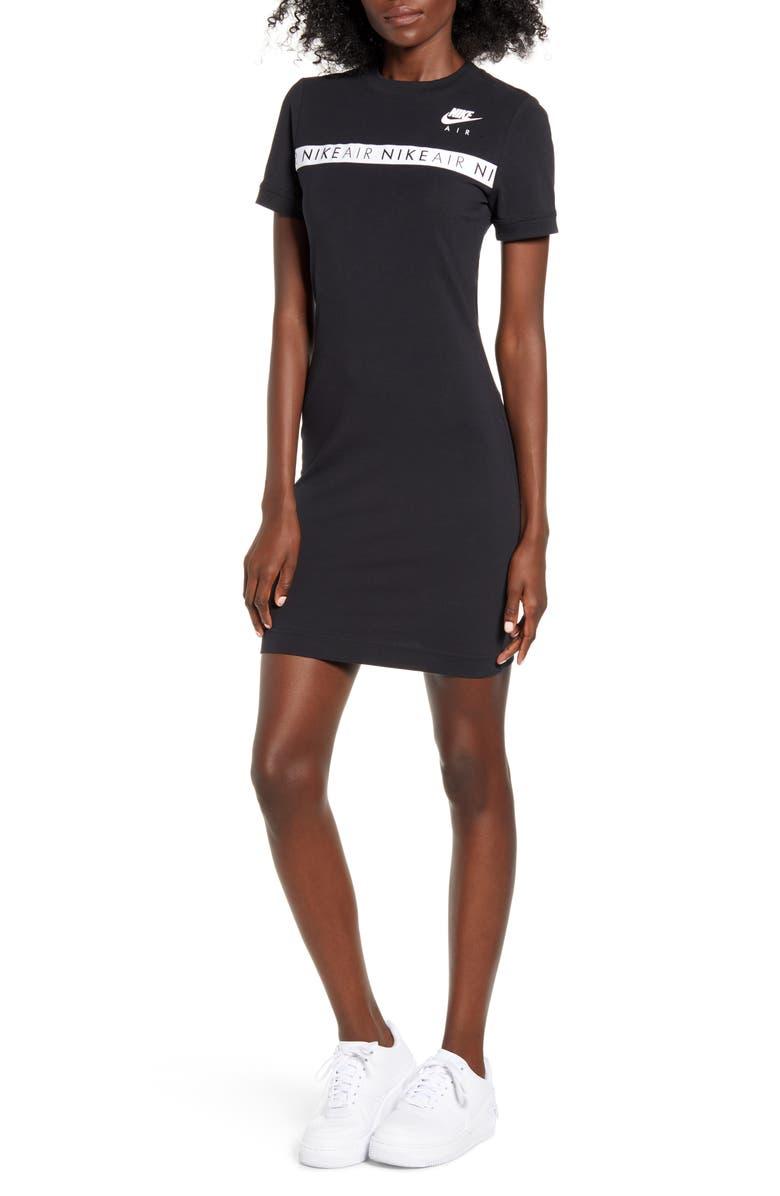 NIKE Sportswear Dress, Main, color, BLACK