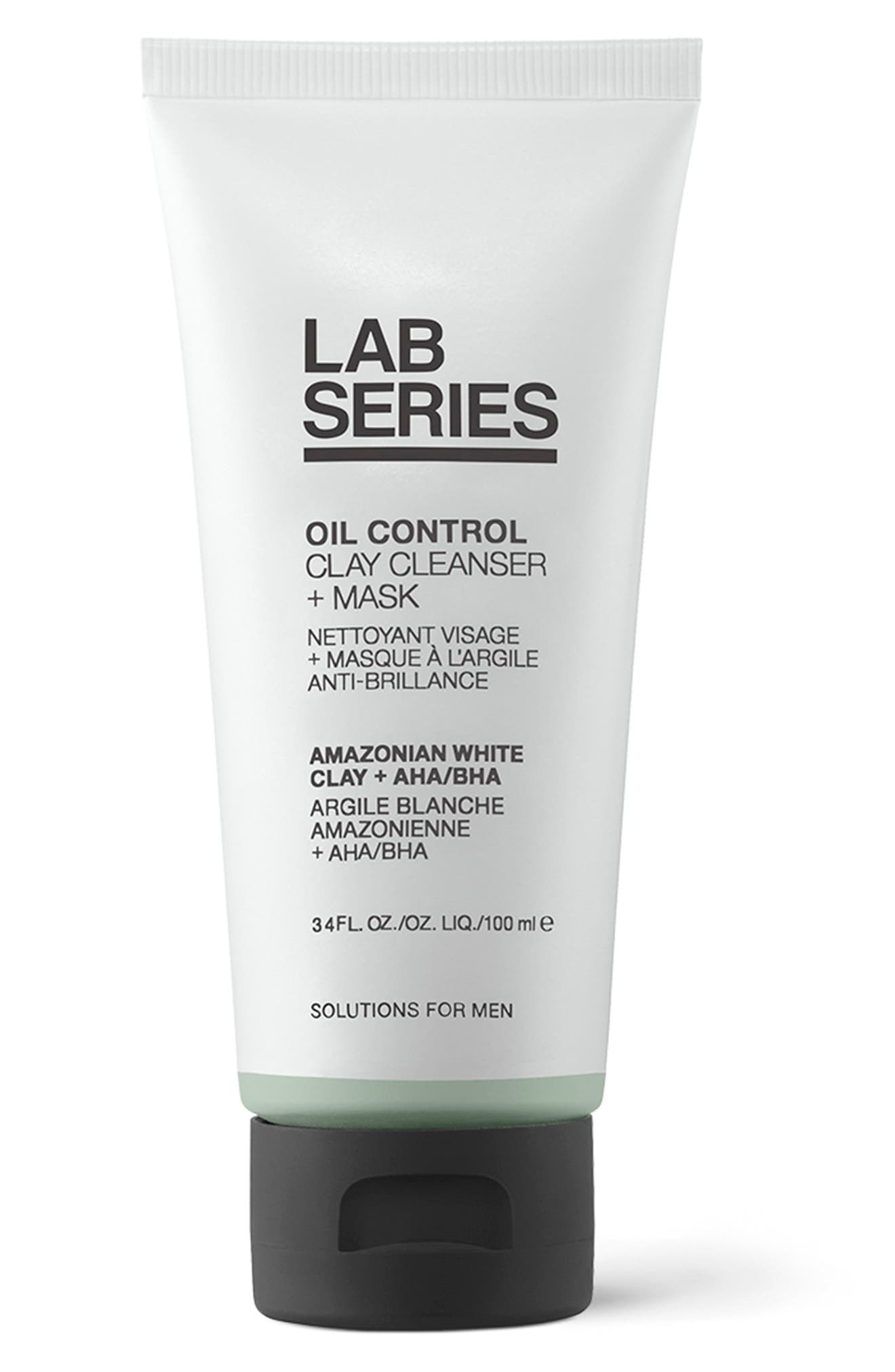 Oil Control Clay Cleanser + Mask