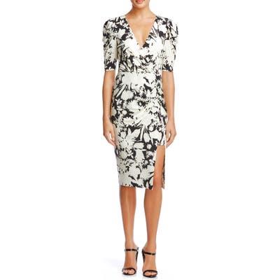 Bailey 44 Aurora Print Dress, Black