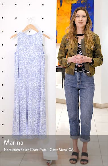 Sleeveless Stretch Silk Dress, sales video thumbnail