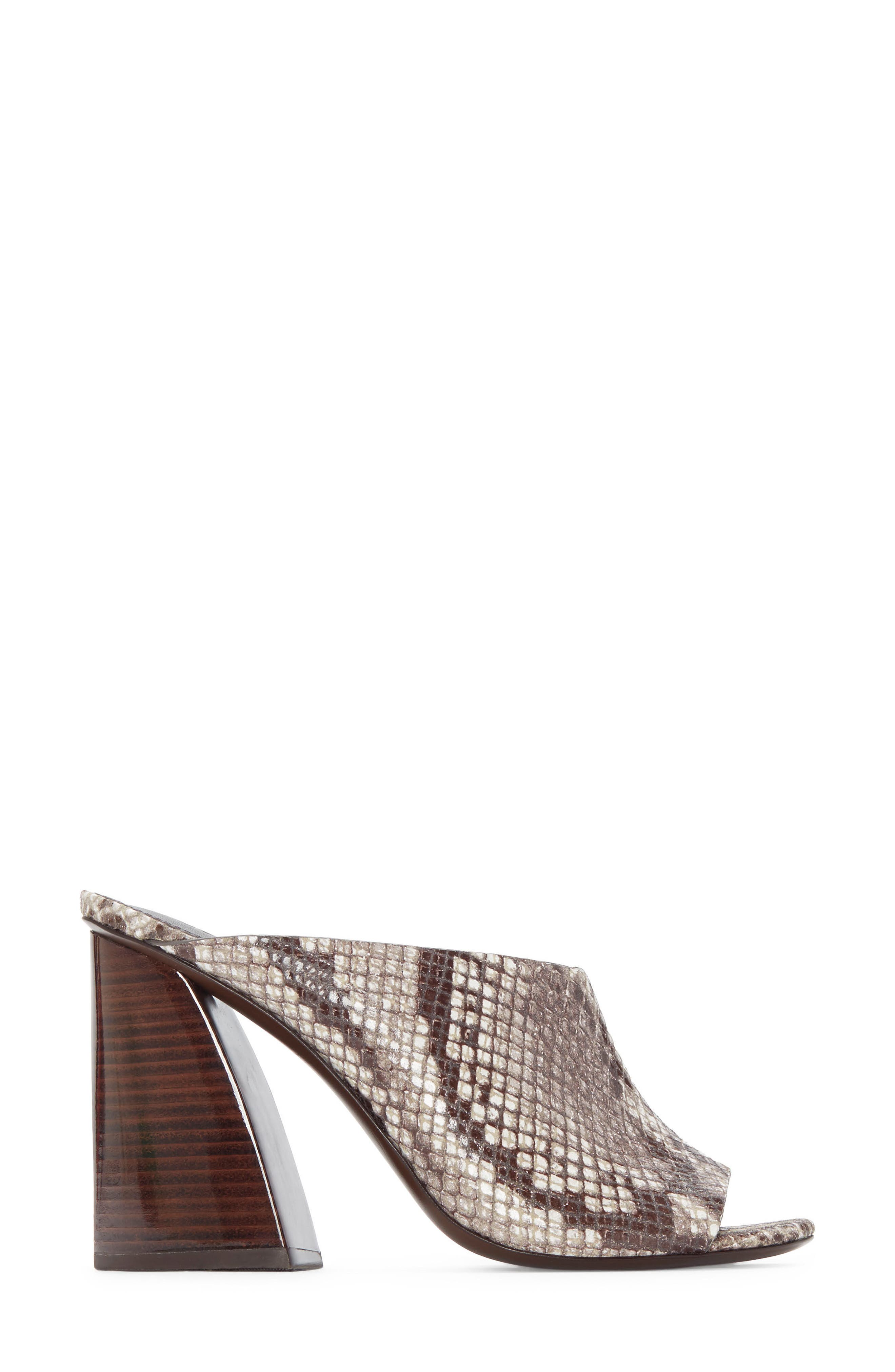 ,                             Izar Mule,                             Alternate thumbnail 2, color,                             TEAK PRINTED SNAKE