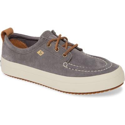 Sperry Crest Lug Platform Sneaker, Grey