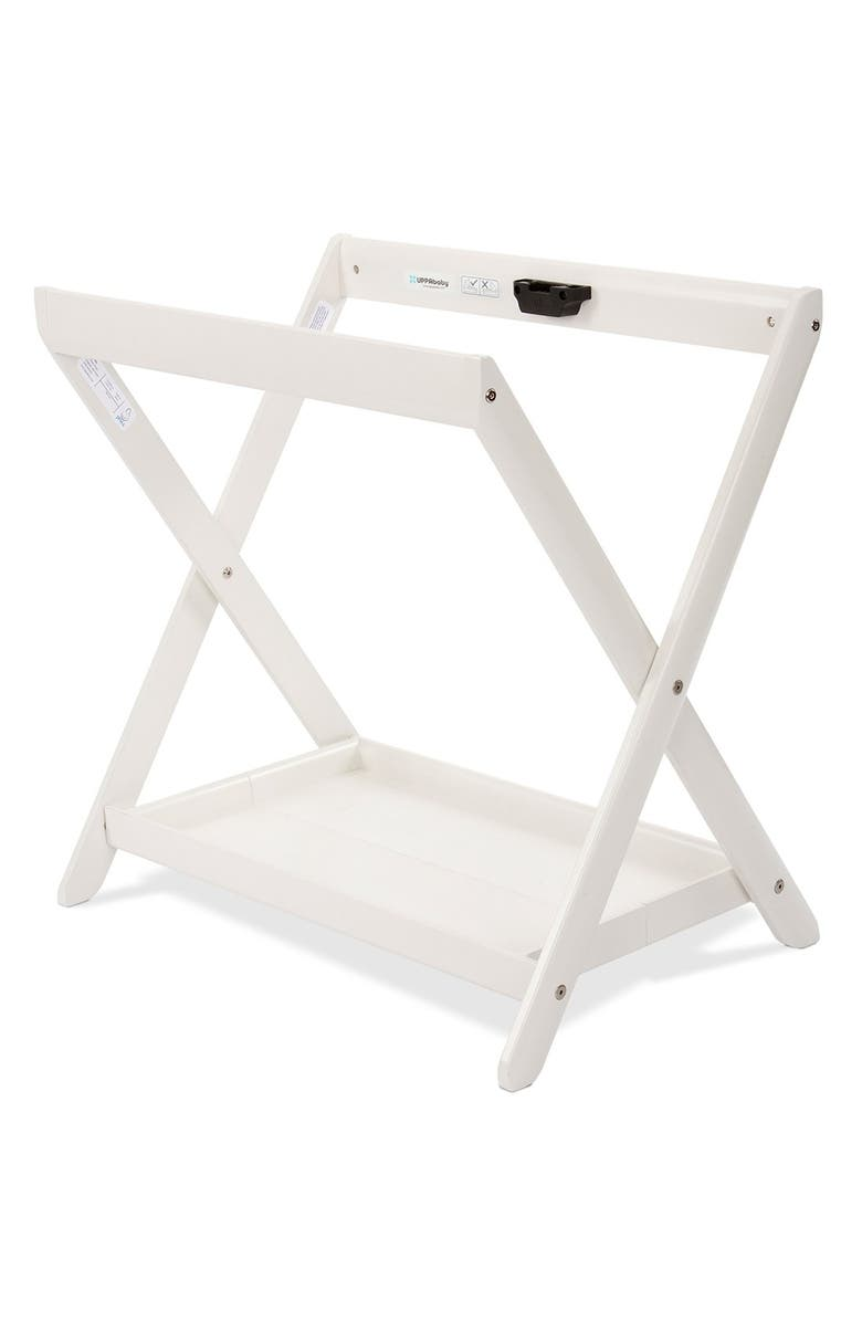 UPPABABY VISTA Bassinet Stand, Main, color, WHITE