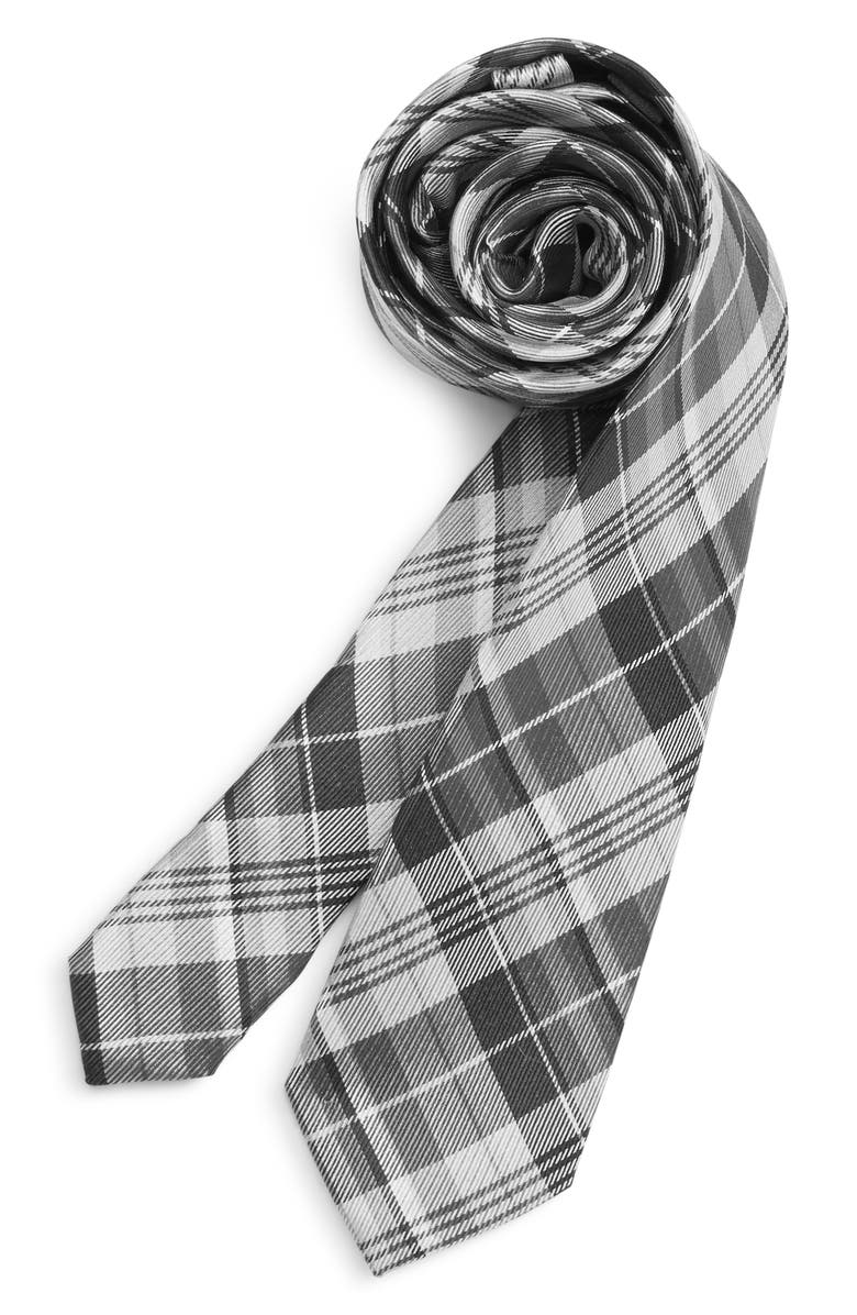 Michael Kors Plaid Silk Tie