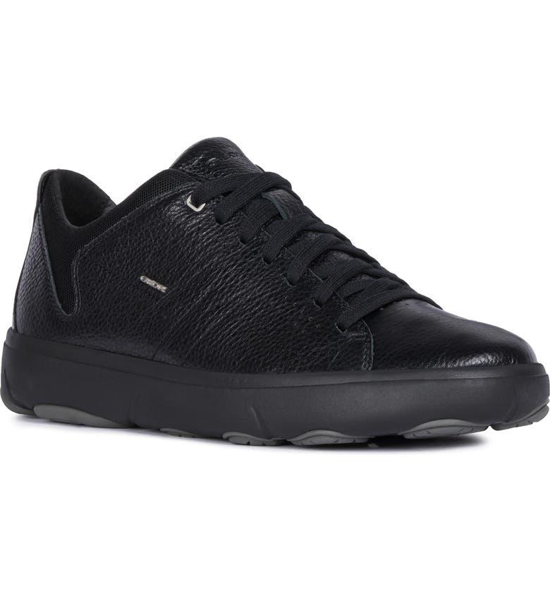 GEOX Nebula 2 Sneaker, Main, color, BLACK