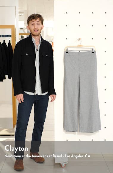 Check Crop Wide Leg Pants, sales video thumbnail