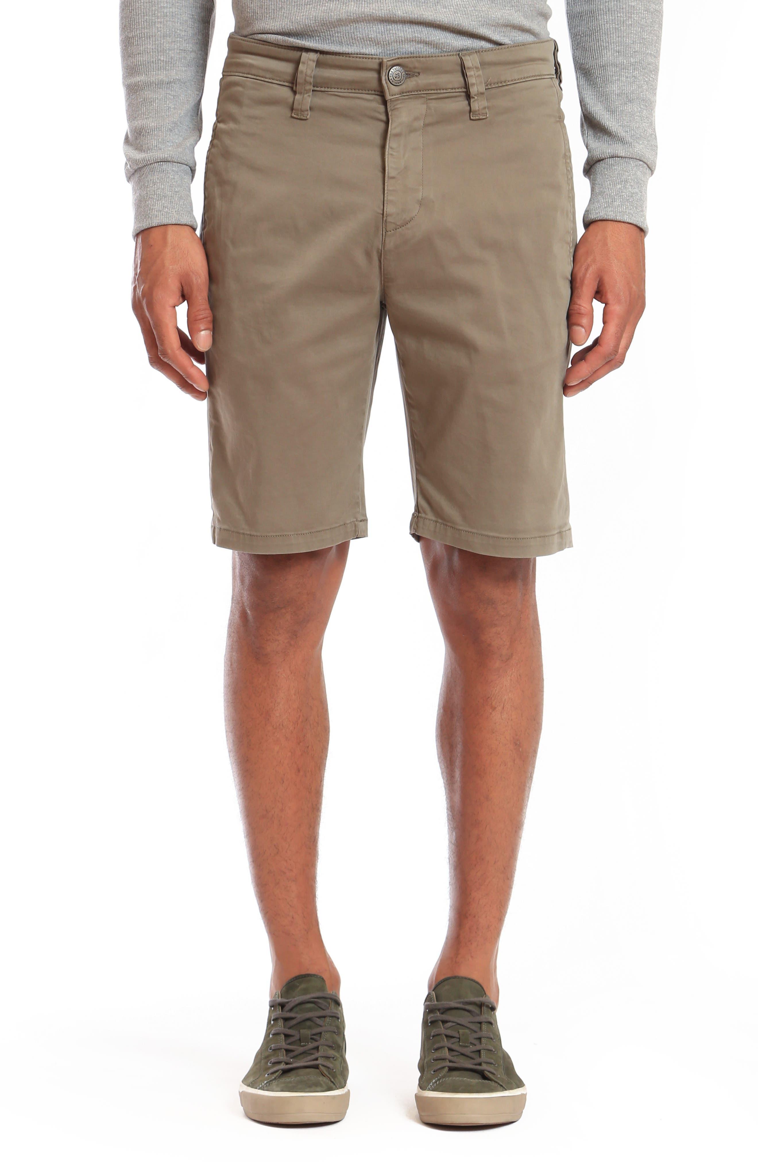 Matteo Flat Front Chino Shorts