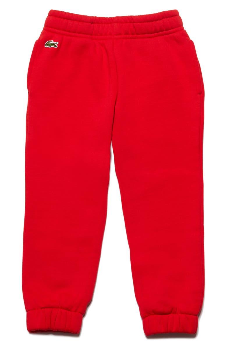 LACOSTE Fleece Pants, Main, color, 610
