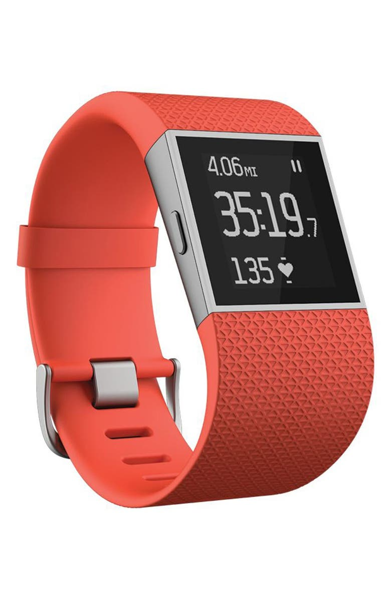 FITBIT 'Surge' Wireless Fitness Watch, Main, color, 820