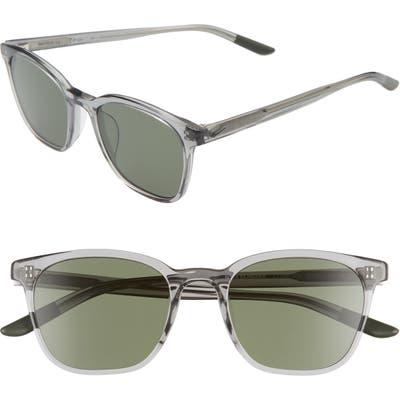 Nike Clincher 50mm Sunglasses - Dark Grey/ Black/ Green
