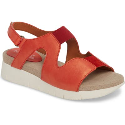 Bos. & Co. Pori Sandal, Orange