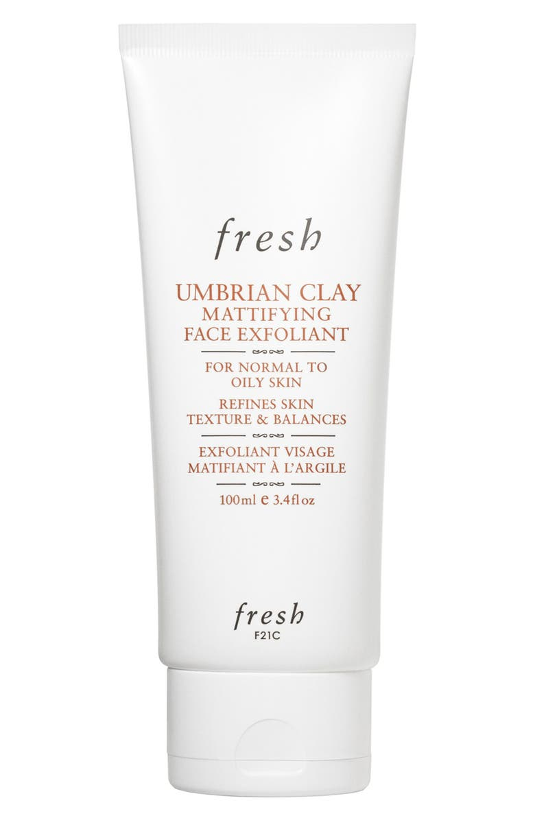 FRESH<SUP>®</SUP> Umbrian Clay Mattifying Face Exfoliant, Main, color, NO COLOR
