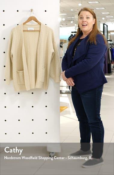Lilah Cable Knit Cardigan, sales video thumbnail