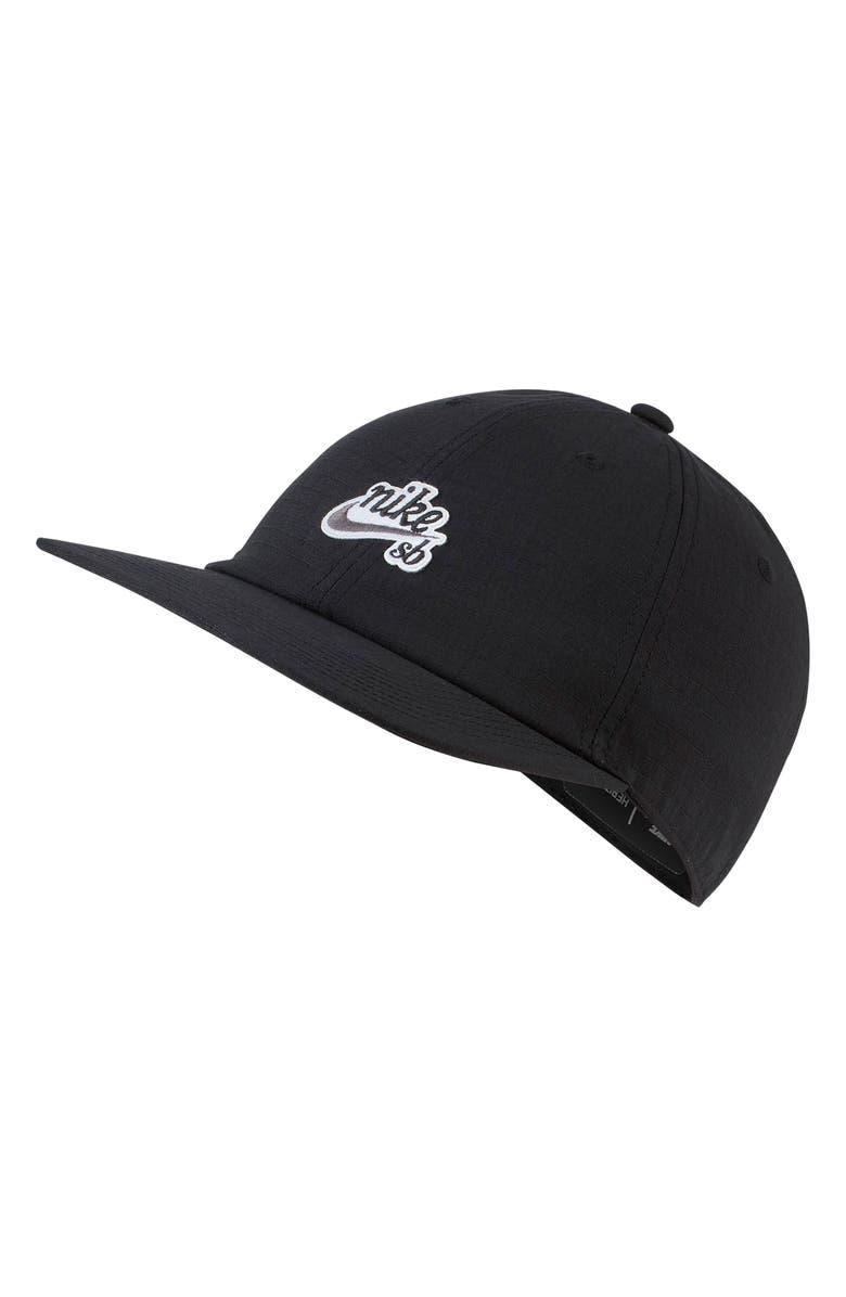 NIKE SB Dry Flatbill Cap, Main, color, 010