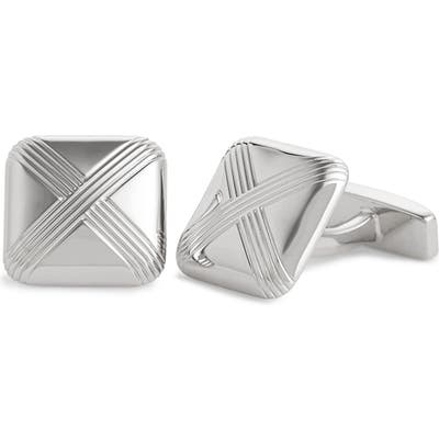 Boss Square Cuff Links
