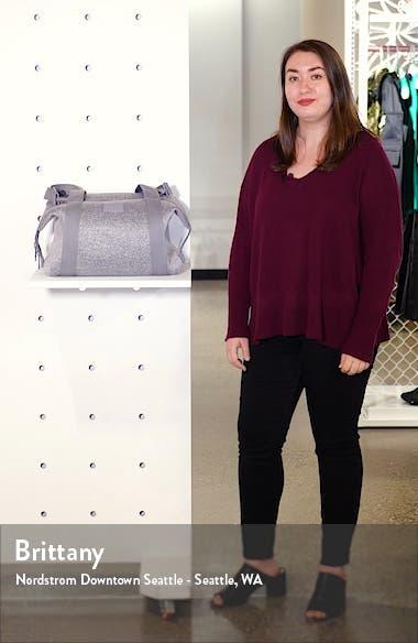 Medium Landon Neoprene Carryall Duffle Bag, sales video thumbnail