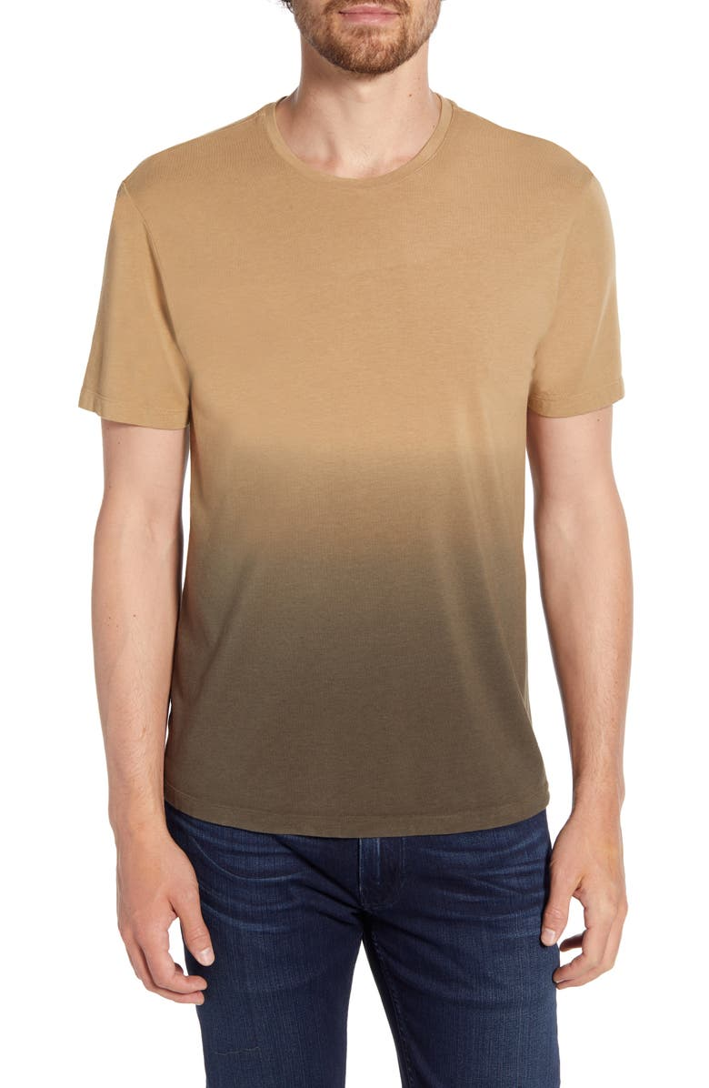 PAIGE Slim Fit Crewneck T-Shirt, Main, color, OLIVE NIGHT SHORE BREAK