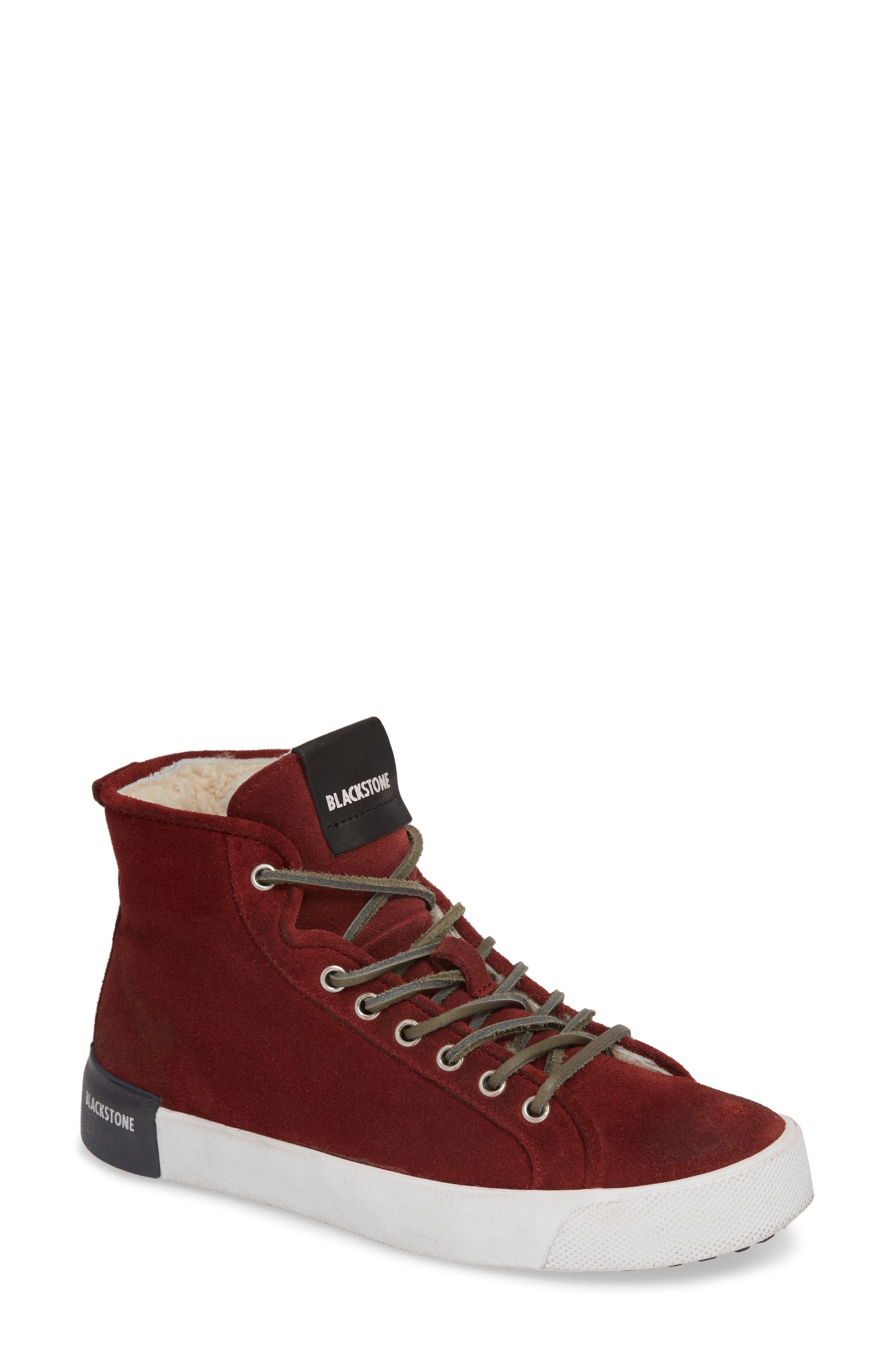 Ql70 Genuine Shearling Lined Sneaker