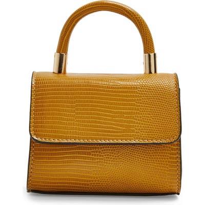 Topshop Cindy Mini Crossbody Bag - Yellow