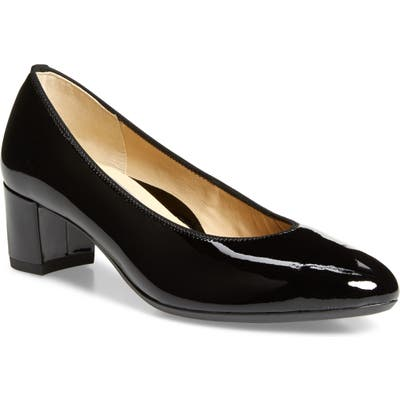 Ara Kendall Pump- Black